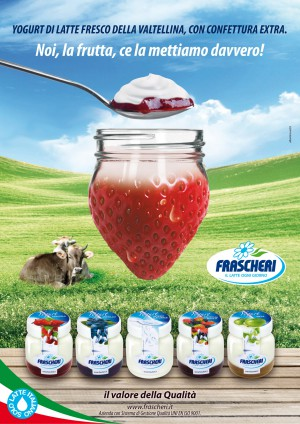 FRASCHERI loc yogurt vasetto trasp